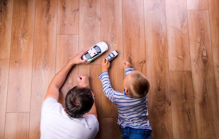 Holzboden geschliffen