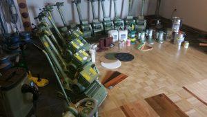 Parkett Schleifmaschine leihen Dortmund